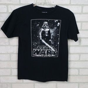 Star Wars Darth Vader Tee LG Black